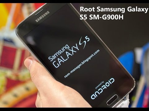 How To Root Samsung Galaxy S5 SM-G900H [ROOT TUTORIAL]