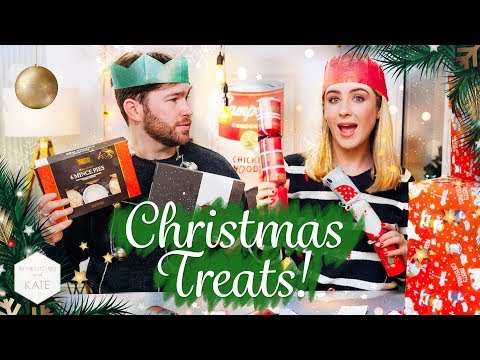 Testing British Supermarket Christmas Treats: M&S, Waitrose, Sainsbury's & Aldi