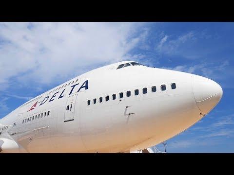 Delta Flight Museum - The 747 Experience