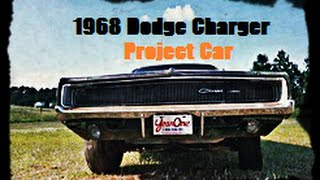 1968 Dodge Charger Project Car, Steel Panels