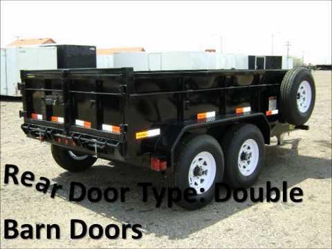 Dump Trailers, Scissor Lift Dump Trailers, Big Tex Trailer Model 10LX-12