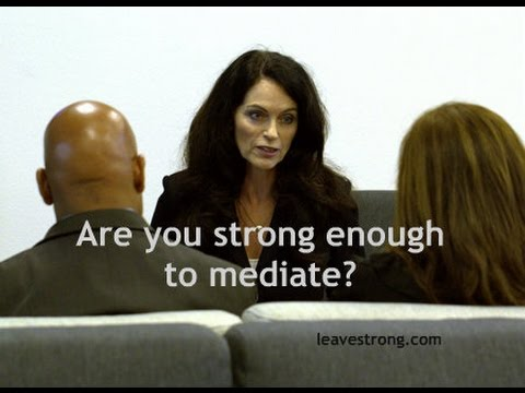 Are You Strong Enough to Mediate Your Divorce