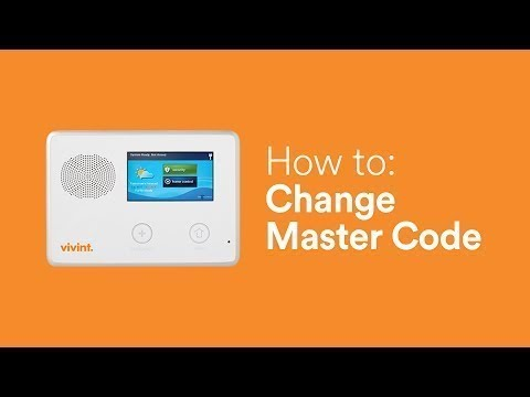 Vivint Go!Control: Change your Master Code