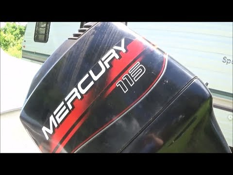 Lower Unit Removal & Water Pump Replacement on 1996 Mercury 115 hp 2-Stroke Outboard
