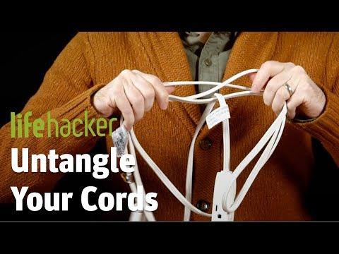 Easy Ways to Prevent Tangled Cords| End Bad Hacks