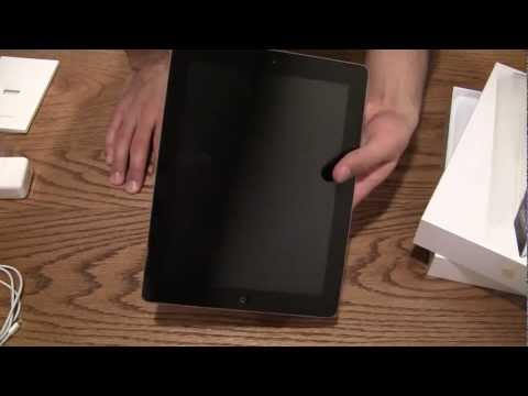 Unboxing: Apple iPad with Retina Display 32GB 4th Generation Late 2012