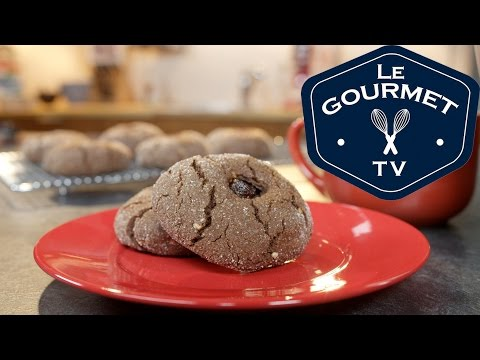 Cocoa Peanut Butter Cookies with Jam Recipe - LeGourmetTV