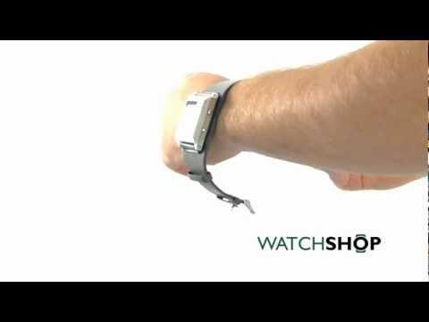 Men's Bench Alarm Chronograph Watch (BC0370SLGY)