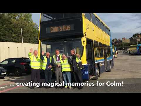 Colm's Special visit to Dublin Bus Central Operations
