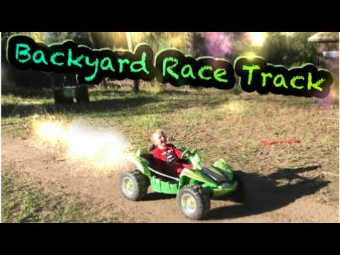 Backyard Kids Race Track