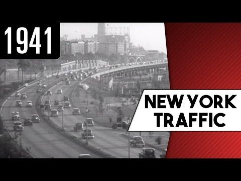 Traffic in New York City (1941)
