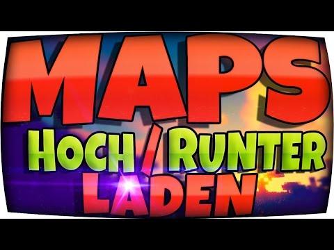 ✸ SERVER Minecraft MAPS Hochladen / Runterladen / Einfügen ✸ Singleplayer WELTEN & Adventure Maps
