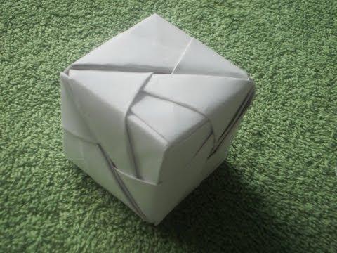 Origami Tutorial: Origami Cube(Sonobe)