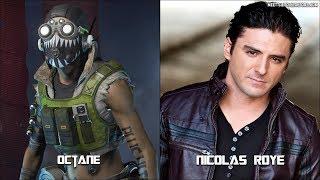 "Apex Legends All Characters Voice Actors "" Octane Update """