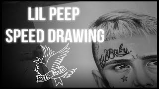 Lil Peep Speed Drawing (r.i.p)
