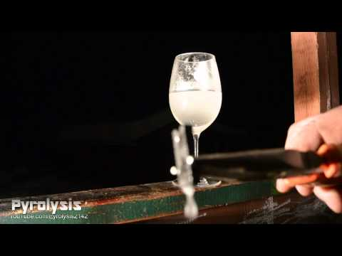 Magnesium in Vinegar.  A Very Bubbly Experiment