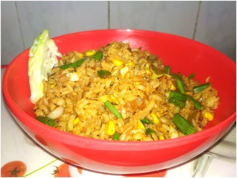 Corn Fried Rice - Quick & Easy Corn Vegetable Rice By Teju's KiTcHeN