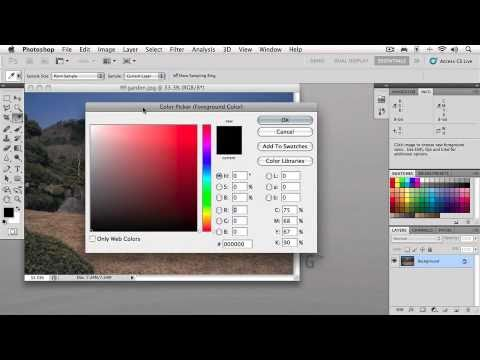 Photoshop CS5. Tutorial. The Big Picture. (2 of 5).wmv