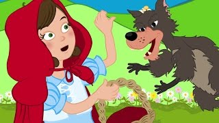 Cappuccetto Rosso cartoni animati italiano - favole per bambini raccontate