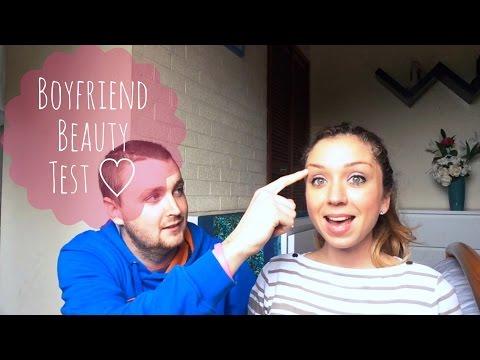 Boyfriend Beauty Test TAG ♡