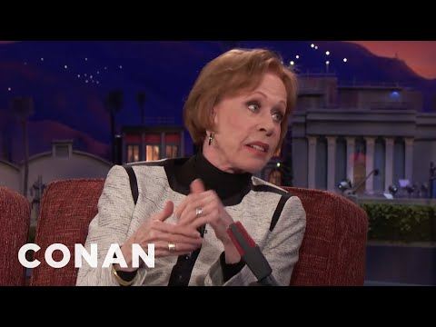 Carol Burnett: Political Comedy Wasn't My Bag  - CONAN on TBS