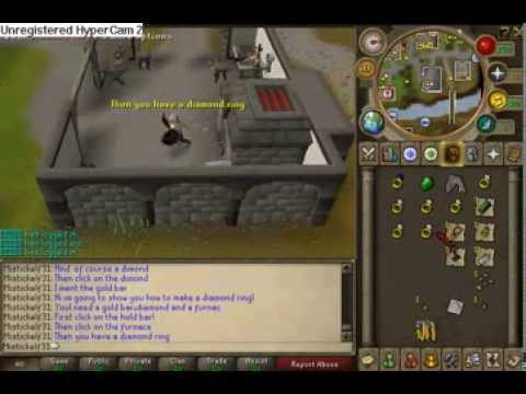 runescape how to make a diamond ring