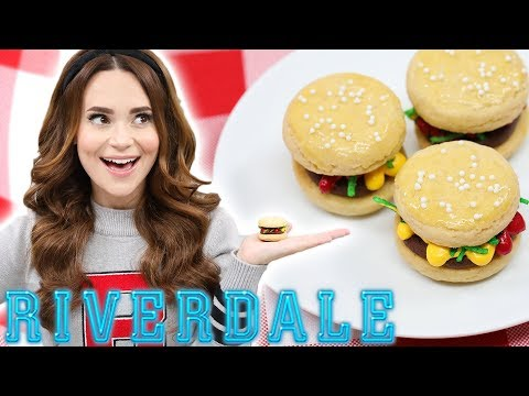 RIVERDALE BURGER COOKIES - NERDY NUMMIES