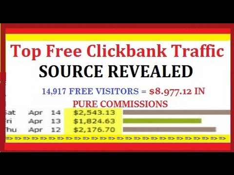 How To Get FREE Traffic To Your Clickbank Affiliate Link