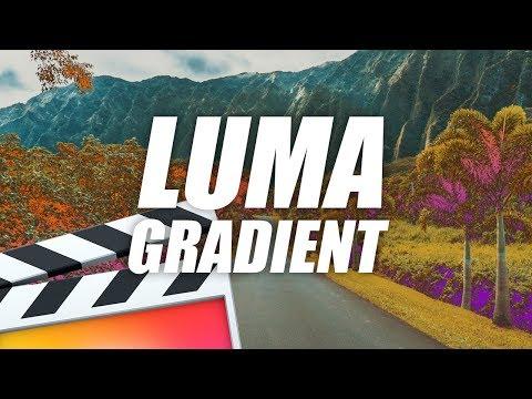 Luma Color Gradient Effect - Final Cut Pro X Tutorial