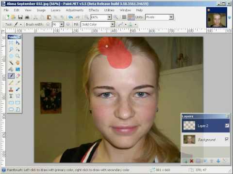 Paint.net Tutorial - Quick Mask