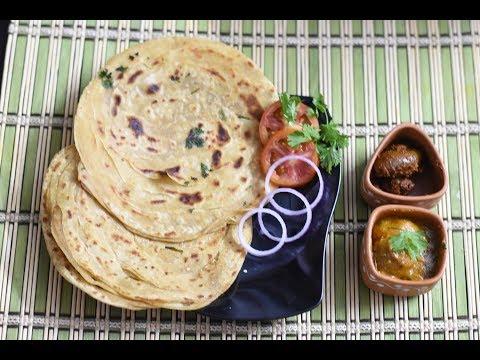 Lachha Paratha Recipe | 2 Ways To Make Lachhedar Paratha | Wheat Flour Paratha