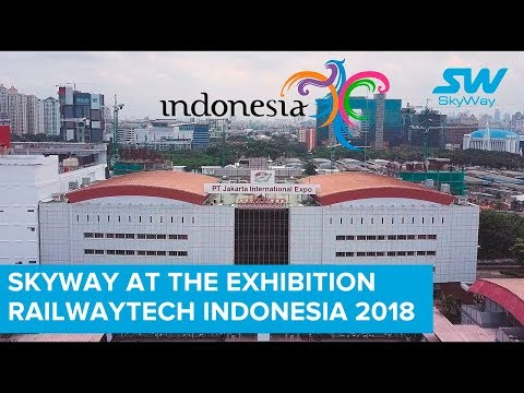 SkyWay at the Exhibition RailwayTech Indonesia 2018