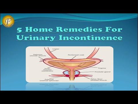5 HOME REMEDIES FOR URINARY INCONTINENCE II  असंयम मूत्र के 5 घरेलू उपचार