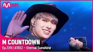 [ATEEZ - Eternal Sunshine] KPOP TV Show   #엠카운트다운 EP.729   Mnet 211014 방송