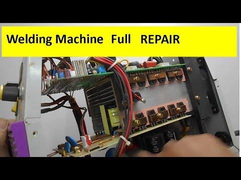 Full Welding Machine Repairing Tutorial & Voltage Distribution Across Different Components