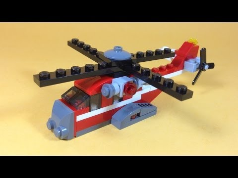 How To Build Lego RED THUNDER HELICOPTER - Lego Creator 31013