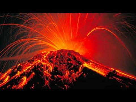 Paper Mache Volcano Eruption
