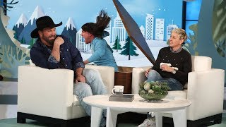 Ellen Gives Garth Brooks a Scare to Remember