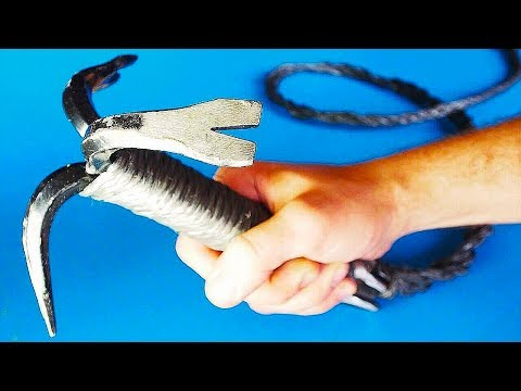 How To Make $5 Grappling Hook - Terraria Inspired (Dollar Store Items)