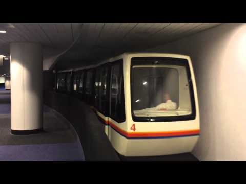 Houston intercontinental Airport Inter-Terminal Train