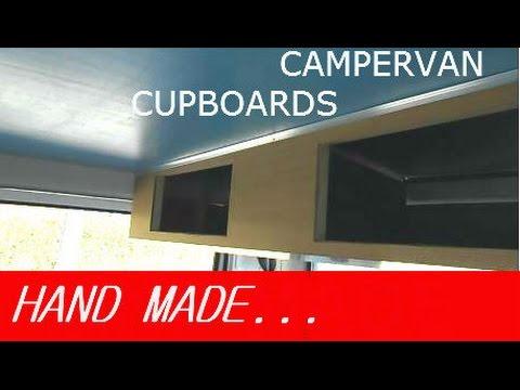 Part 10 - Cupboards & Shelving - VW Campervan Conversion