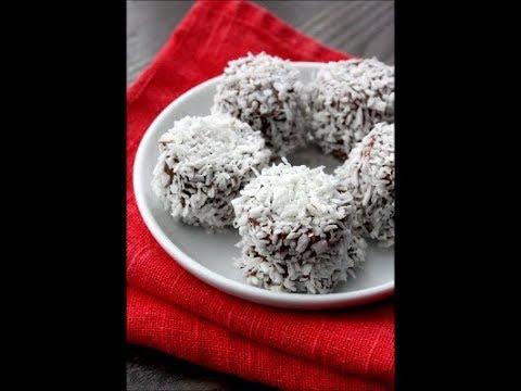 3 ingredient no bake Snowballs recipe