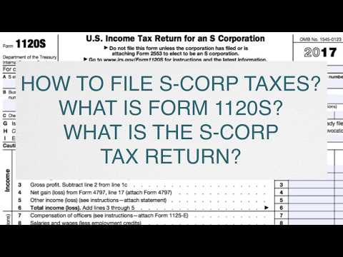 S-corp form 1120s