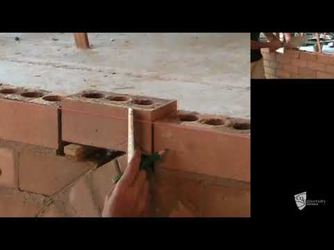 Constructing gothic brick arch (Part 2 of 2)