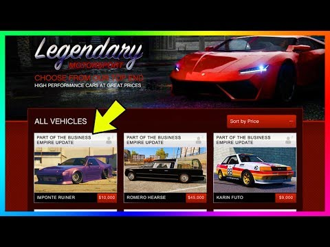GTA Online 8 NEW DLC Vehicles Information - Prices Confirmed, Selling Cars, Import/Export & MORE!