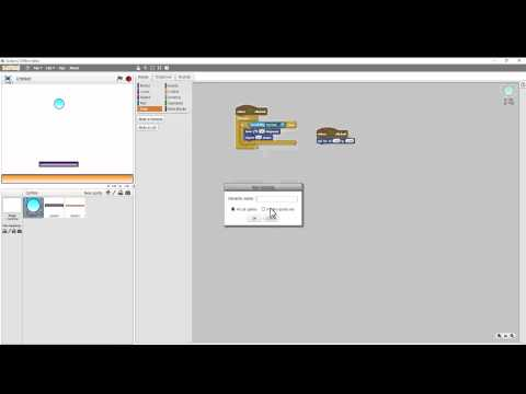 Scratch How to Make A simple Ping Pong Game Part 1