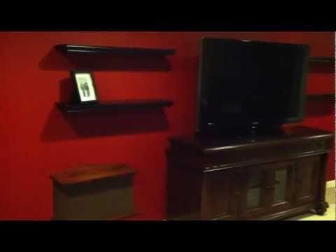 Home Theater Bose 901 man cave acoustic panels