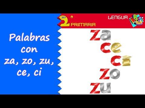 Xxx Mp4 Lengua Castellana 2º Primaria Tema 4 Ortografía Za Zo Zu Ce Ci 3gp Sex