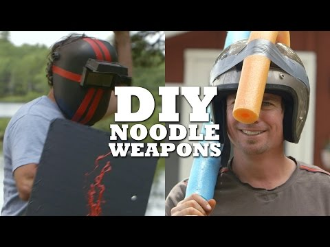 DIY Noodle Weapons