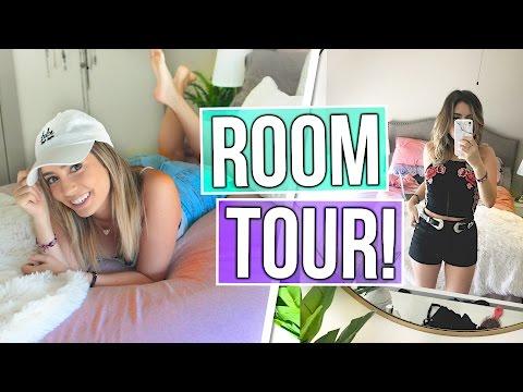 NEW LA ROOM TOUR 2017!! Bedroom & Walk In Closet Tour!!